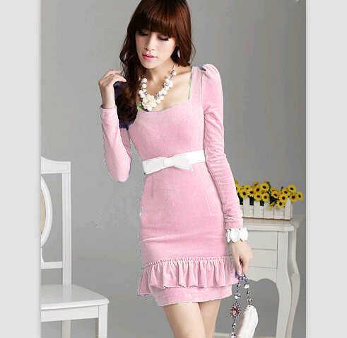 baju batik long dress